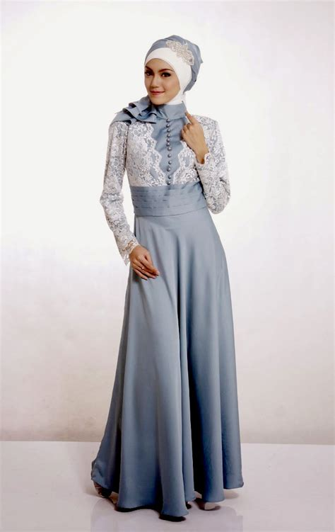 Model Baju Muslim Sederhana Desain Batik Simple Nan Elegan Hairstylegalleries