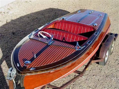 chris craft boats vintage chris craft racing runabout for sale kamerlen