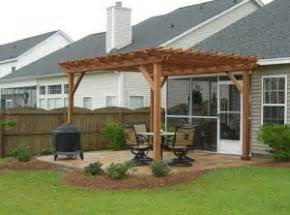 Pergola Against House by Building A Custom Pergola Attached To Your Home Home