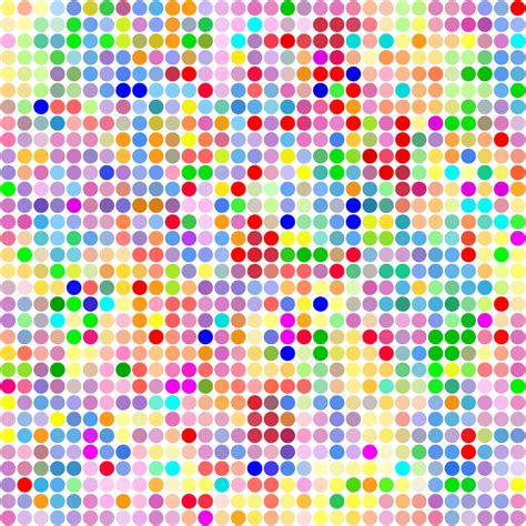 pattern by color clipart color dot pattern