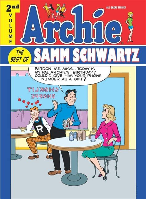 archie vol 2 archie best of samm schwartz hc volume 2 idw publishing