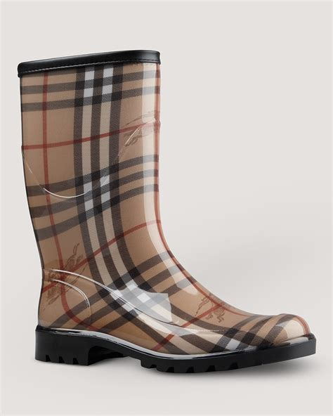 s burberry boots burberry boots check print bloomingdale s