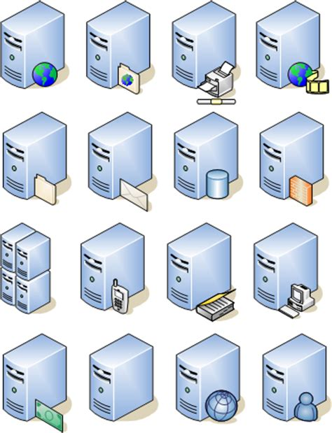 visio web service icon 14 visio server icon images visio database server