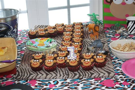 birthday themes for a 1 year old 1st birthday party welcome to the jungle things 4 moms