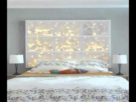light up headboard bed diy headboards with lights