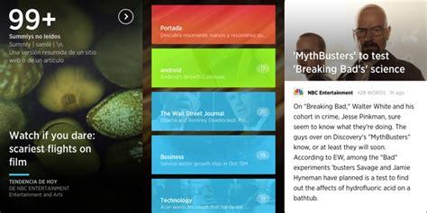 App Que Resume Livros Summly Una App Que Selecciona Y Resume Las Noticias Que
