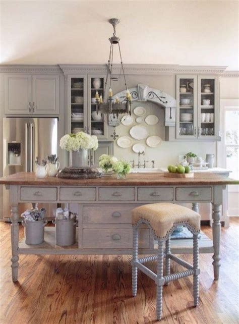 modern french country style kitchen decor ideas