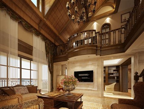 luxury villas wood ceiling design