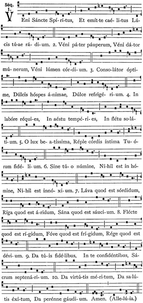 veni creator spiritus testo chantblog veni sancte spiritus dufay
