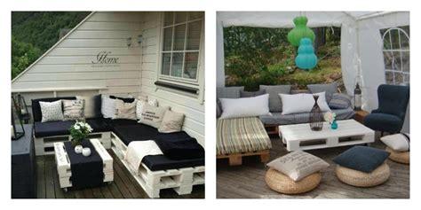 Salon De Jardin En Palette Simple