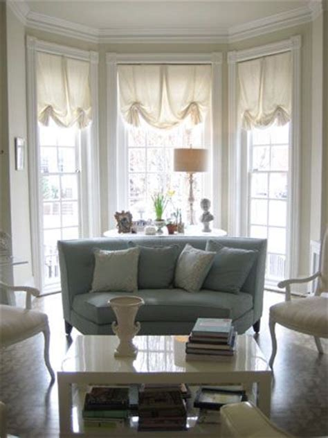 bay window decor bay window treatments window treatment ideas pinterest