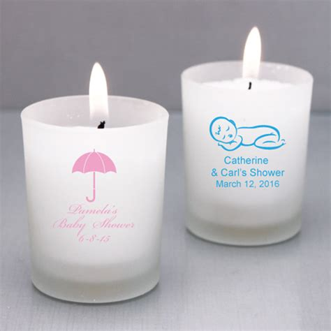Personalized Baby Shower Favors by Personalized Baby Candle Holders Baby Shower Favors