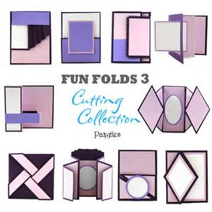 how to make different types of birthday cards folds 3 cutting collection wpc svg and ai pazzles
