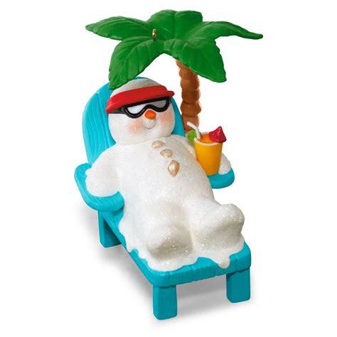 hallmark ornaments 2016 kokomo snowman hallmark keepsake ornament hooked on