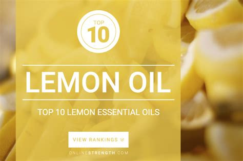 The Best Antifungals Essential Oils For Detoxing Aflatoxins by 10 Best Lemon Essential Brands January 2018