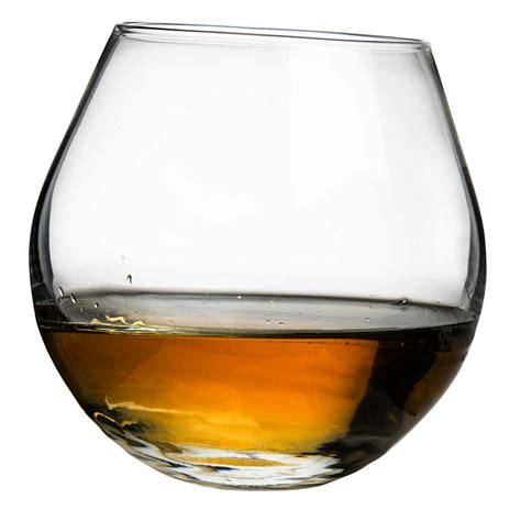 Bar Tumbler Glasses Rocking Whisky Glass 30cl Premium Rocks Tumblers Bar