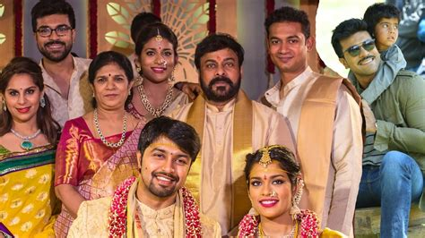 ram charan teja family photos actor ram charan family photos ram charan with
