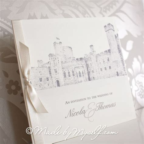wedding invitations cheshire peckforton castle pocketfold wedding invitation includes rsvp guest information 1