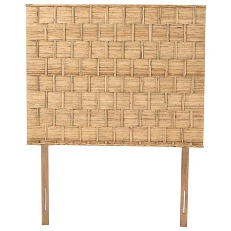 rattan twin headboard rattan weave twin size headboard natural finish dcg stores