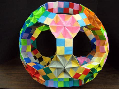 origami polyhedra origami japanese paper folding kcp international