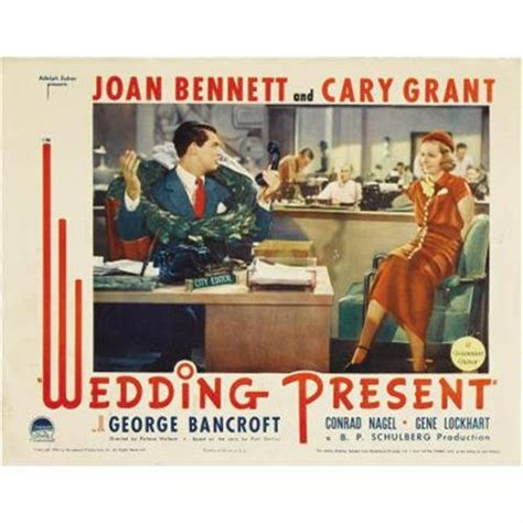 Gift Card For Wedding Present - wedding present paramount 1936 lobby cards