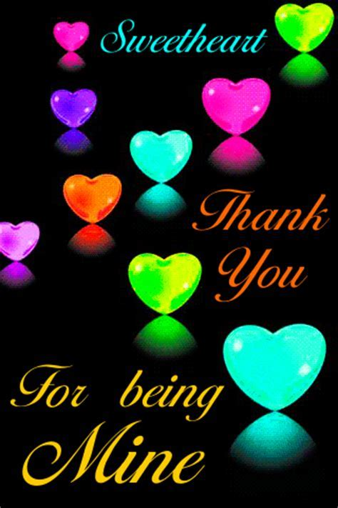 Thank You For Being Mine! Free Thank You eCards, Greeting