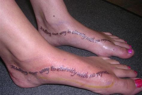 couple foot tattoos couples tattoos top 25 as voted by our panel