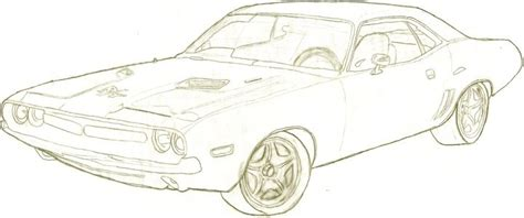 how to draw a dodge challenger drawingforall net dodge challenger by paintballer5231 on deviantart