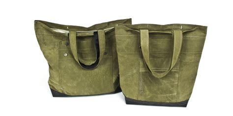 Tote Bag Simple Hijau Army handmade totes matt grandin design portfolio
