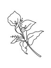 coloring pages of easter lilies easter lilies coloring page archives free coloring page