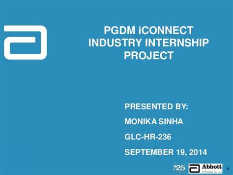 Abbott Laboratories Mba Internships by Industry Internship Presentation Abbott