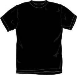 black t shirt design template black t shirt template front clipart best