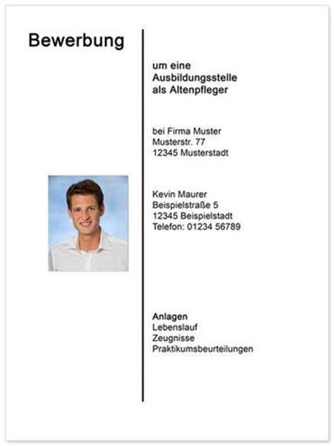 Praktikum Bewerbung Anlagen Wie Macht Ein Strich In Der Mitte Des Dokumentes Bewerbung Deckblatt Dokumente