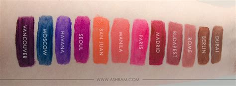 Nyx New Shades Madrid new nyx soft matte lip shades review swatches