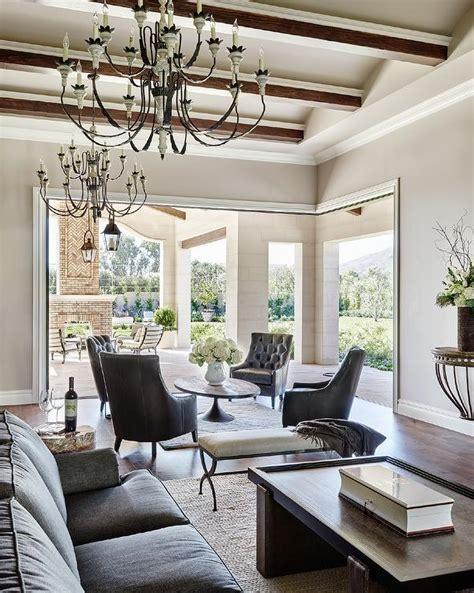 placing tv in front of window circular furniture arrangement design ideas