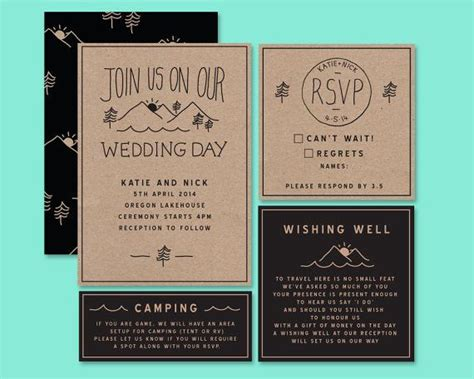 Wedding Bell Wording by For Wording On Invitations About Cing Adventure