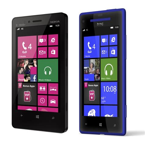 windows 8 mobile phone t mobile s windows phone 8x and lumia 810 to land by