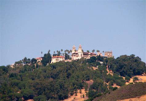 california map hearst castle san simeon images