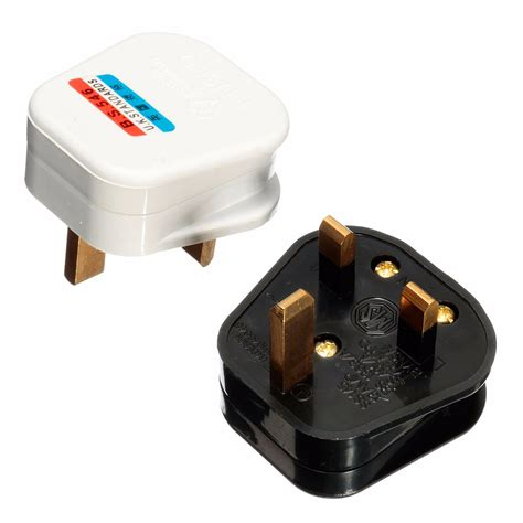 three pin electrical 3 pin 13a 13 uk mains top appliance power socket