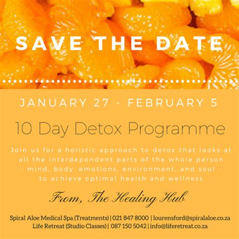 10 Day Detox Carrots Okay by Is It Time For A Detox Retreat South Africa
