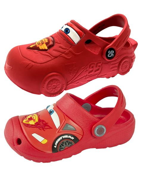 disney cars lightning mcqueen 3d clogs summer sandals boys shoes size ebay