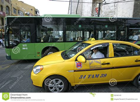 Mba Transportation Taxi Gratuity by Transport In Istanbul Editorial Stock Photo Image