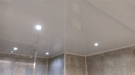 ceiling panels for bathroom plain white gloss ceiling panel ideal for ceilings and walls