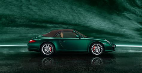green porsche 2011 green porsche 911 carrera s cabriolet wallpapers
