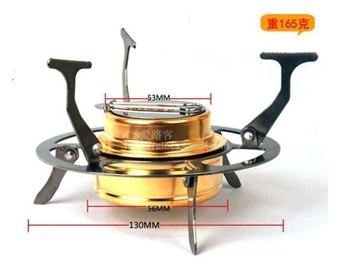 Portable Stove Alocs B02 spirit burner heater images