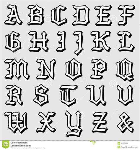 doodle lettering a z doodle lettering styles a z gotische letters alfabet
