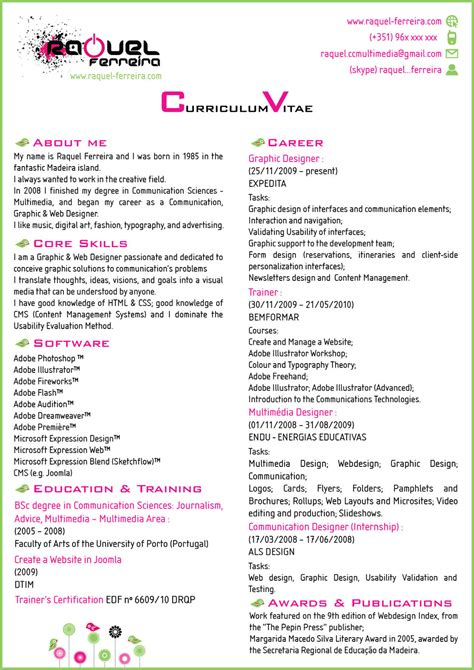 Simple Resume Sample Download by My 1 Page Cv By Rachnroll On Deviantart