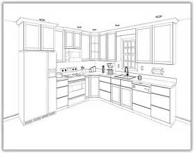 kitchen cabinet layout plans home design ideas
