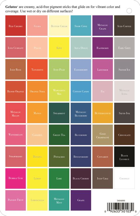 pastel colors list a complete list of all the gelatos colors by faber castell