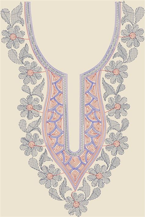 neck design in embroidery embdesigntube purchase neck designs at only 1 usd